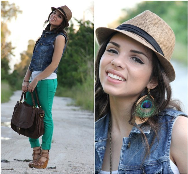 Pantalones verdes Daniela