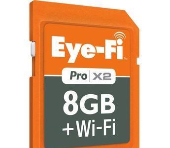 Eye-Fi X2 llega al mercado como la evolución de la SD inalámbrica con una WiFi más rápida
