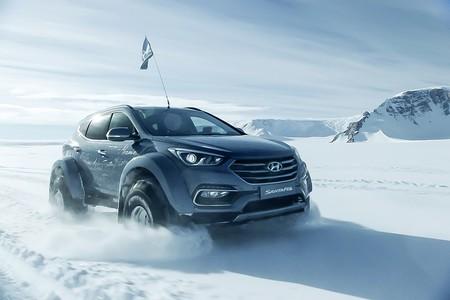 Un Hyundai Santa Fe conquista la Antártida para homenajear al aventurero Ernest Shackelton