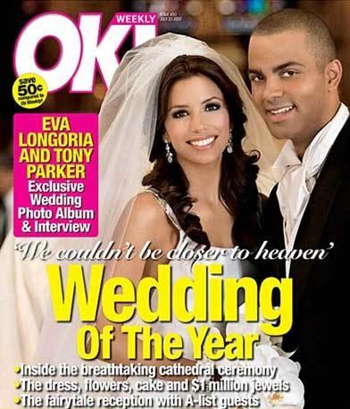 Primeras fotos oficiales de la boda de Eva Longoria