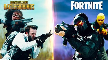 'PUBG vs Fortnite', el alucinante corto que resume de forma perfecta la rivalidad más grande de los últimos tiempos