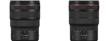 Canon confirma los nuevos objetivos para su montura RF: el RF 24-70 mm f/2.8 y el RF 15-35 mm f/2.8