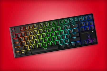 HyperX tiene en oferta el teclado mecánico Alloy Origins Core: 1,499 pesos en Amazon México con cuerpo de aluminio y RGB