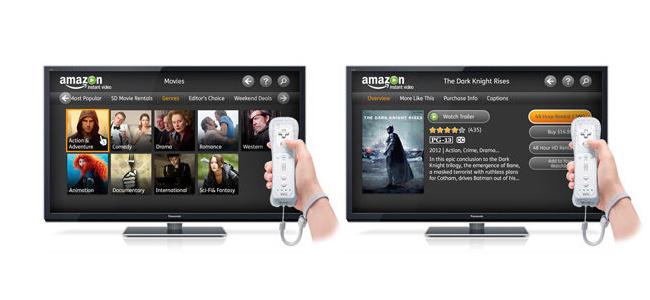 Amazon Instant Video en Wii