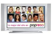 Lo mejor de Poprosa'07: los famosos (nacionales) de la televisión
