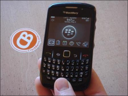 Blackberry Gemini 8530, back to the future