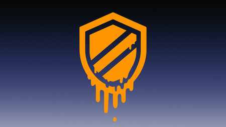 Apple Meltdown Logo Aps