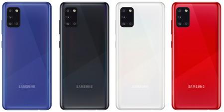 Galaxy A31 Back