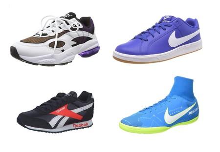 Ofertas en tallas sueltas de zapatillas Nike, Reebok, Puma o las clásicas Paredes por menos de 30 euros en Amazon