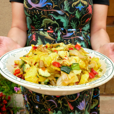Fritada aragonesa: receta del exquisito pisto maño