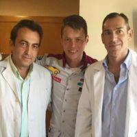 Tito Rabat se rompe el radio del brazo izquierdo, pero aun así viajará a Japón