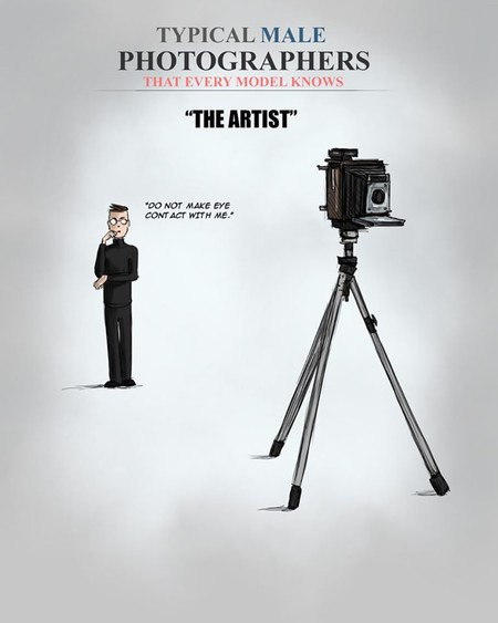 Estereotipos Masculinos Fotografos 3