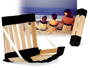Silla ergonómica para disfrutar de la playa