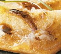 Coca de peras y foie con reducción de Pedro Ximénez