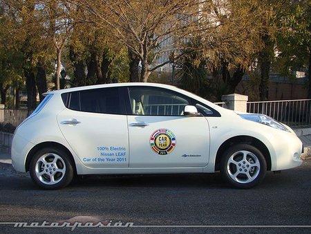 Nissan Leaf, prueba (conducción y dinámica)