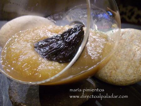 Receta de compota de manzana con ciruelas pasas