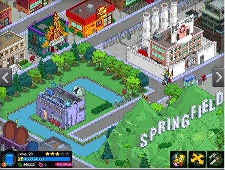 EA Los Simpson