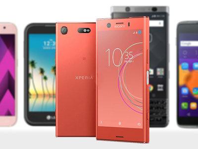Gama alta en frasco pequeño: Sony Xperia XZ1 Compact contra otros móviles de pantalla menor de 5 pulgadas