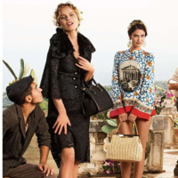La familia de Dolce & Gabbana tiene a una nueva invitada a la mesa: Eva Herzigova