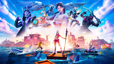 Fortnite Temporada 3 ya está en marcha: Aquaman, viajes en tiburón, un mapa a lo Waterworld y mucho más