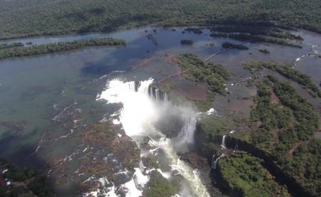 Iguazú en helicóptero