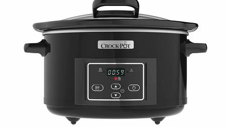 La olla de cocción lenta Crock-Pot CSC052X-01 está rebajada a 58 euros con envío gratis en Amazon
