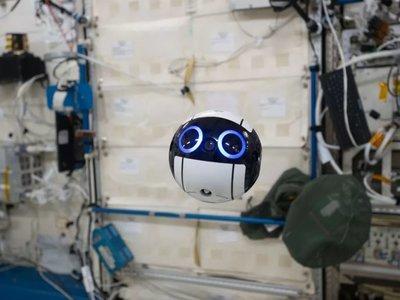 No es Wall-e, sino el robot flotante de la Estación Espacial Internacional