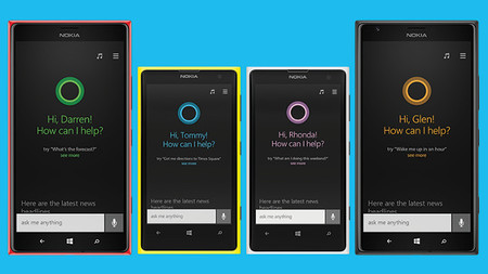 Cortana en Windows Phone 8.1