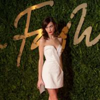 El little white dress de Alexa Chung