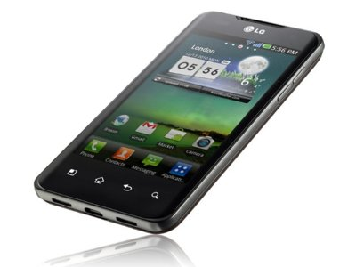 LG Optimus 2X, panel IPS y originales gestos