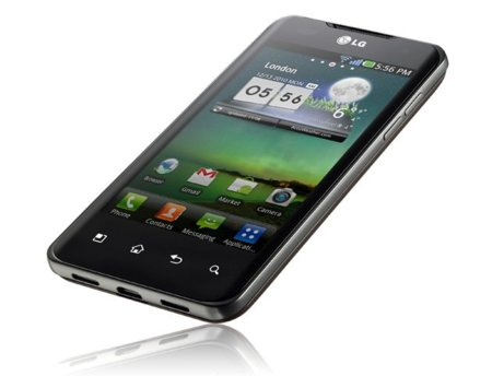 LG Optimus 2X, panel IPS y originales gestos