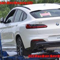 ¡Espiado! La nueva generación del BMW X4 ya se pasea al desnudo