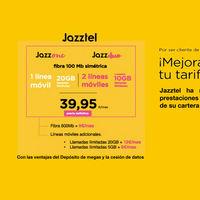 Jazztel simplifica su oferta convergente con dos nuevas tarifas 'Jazz One' y 'Jazz Duo', por 39,95 euros al mes