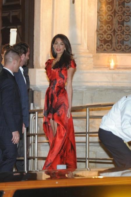 Amal Alamuddin y George Clooney despiden su soltería