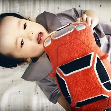 Un coche de juguete para calmar el llanto del bebé: el nuevo invento japonés