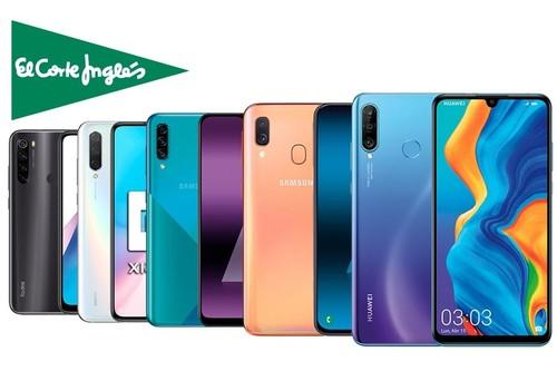17 smartphones de Huawei, Xiaomi o Samsung que esta semana te salen más baratos en El Corte Inglés, con envío gratis, recogida Click&Collect&Car y financiación hasta en 12 meses