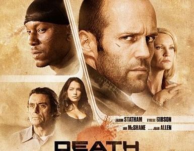 'Death Race', póster