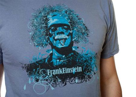 Camiseta FrankEinstein de Pampling