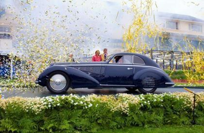 El ganador del Best-of-Show-2008 en el Pebble Beach Concours d'Elegance