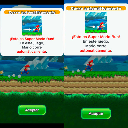Supermario run Escalado