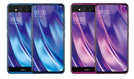 Versiones Vivo Nex