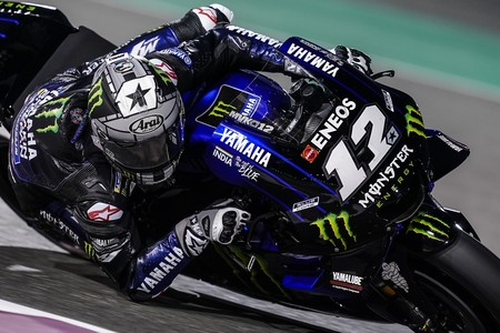 Maverick Vinales Test Catar 2019