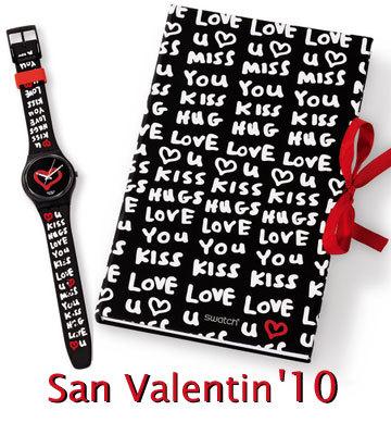 San Valentín: celébralo con Swatch