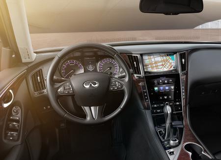 Infiniti Q50, vista interior