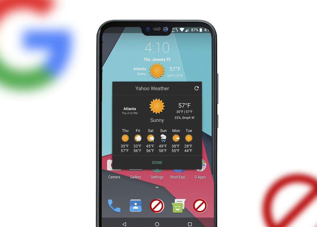 Cómo sería un Huawei® carente Android-OS de Google, y por qué no es tan elemental escapar de este aparato operativo