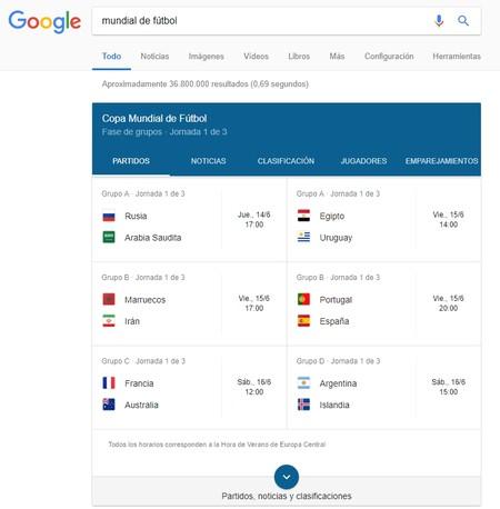 Mundial Google