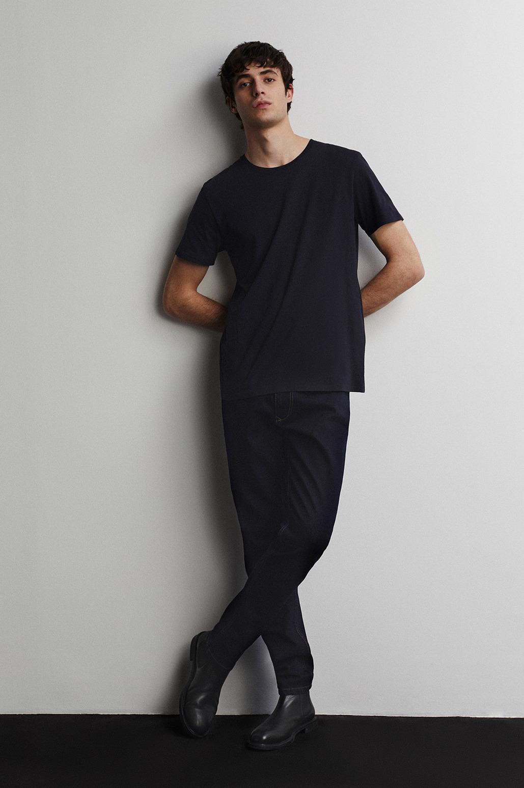 Jeans en denim corte slim fit