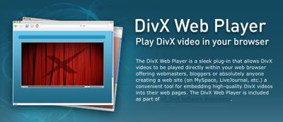 DivX y Stage 6, o como emitir vídeo con calidad HD a 1080p en web