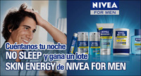 Cuéntanos tu noche NO-SLEEP más divertida y gana un lote de productos Skin Energy de NIVEA FOR MEN [Finalizado]