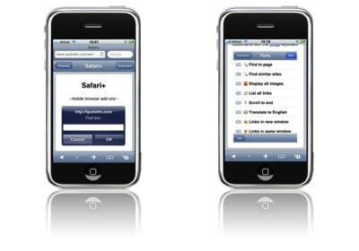 Safari+ añade funcionalidades extras a la versión mobile de Safari